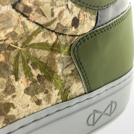 รองเท้าวีแกนผลิตจากกัญชา