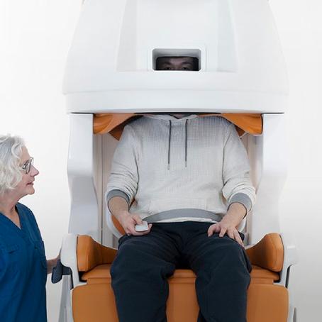 เครื่อง MRI สแกนสมองแบบสบายใจ