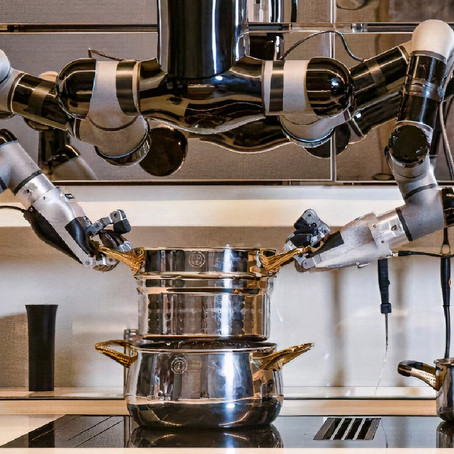 หุ่นยนต์ทำอาหารพร้อมล้างจาน ทำได้ 5,000 เมนู ด้วยสูตรเมนูเชฟระดับโลก