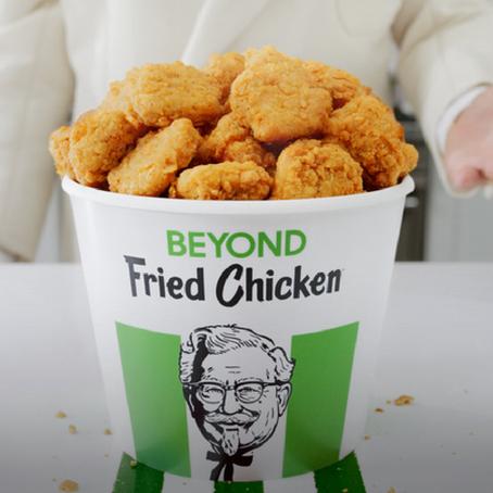 ไก่ทอด KFC ทำจากพืช