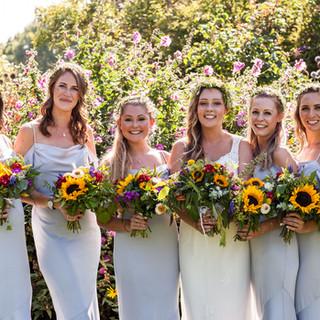 Sunflower Wedding at Pangdean