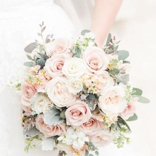 Blush pink & Ivory Bouquet