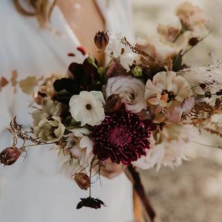Coffee & Mocha Wedding bouquet