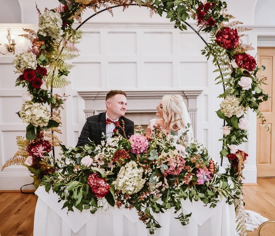Ceremony wedding arch
