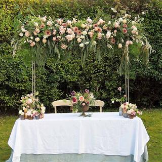 Sweetheart table framework