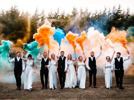 How to create a wedding day full of colour (17 ways!)