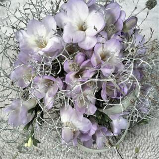 Pale lilac Freesia Bouquet