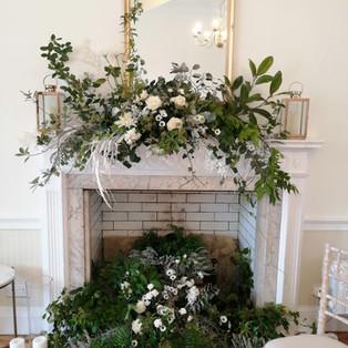 Fireplace at Pelham House