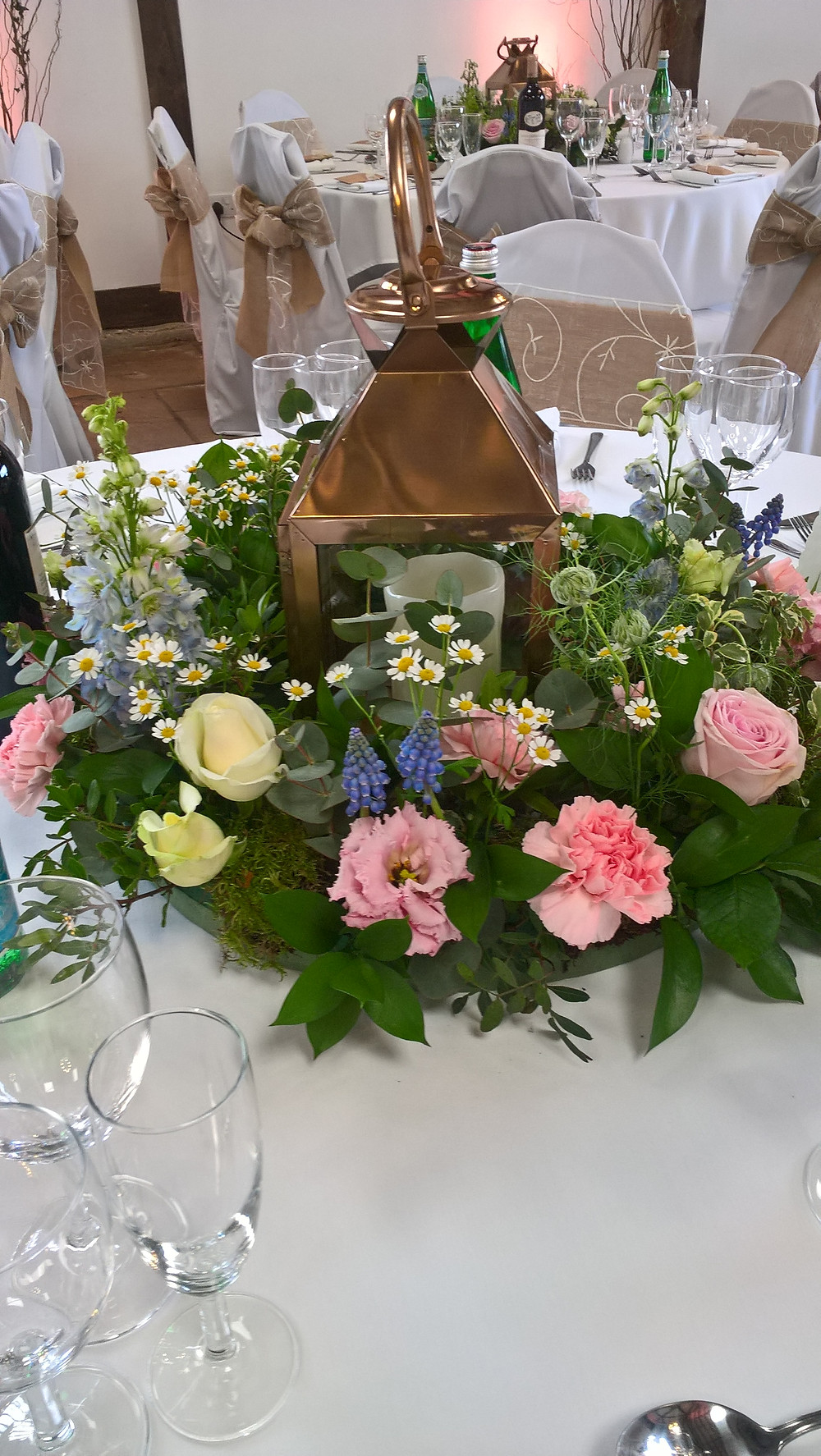 Brief: To create a Miniature English garden - each table must be different!