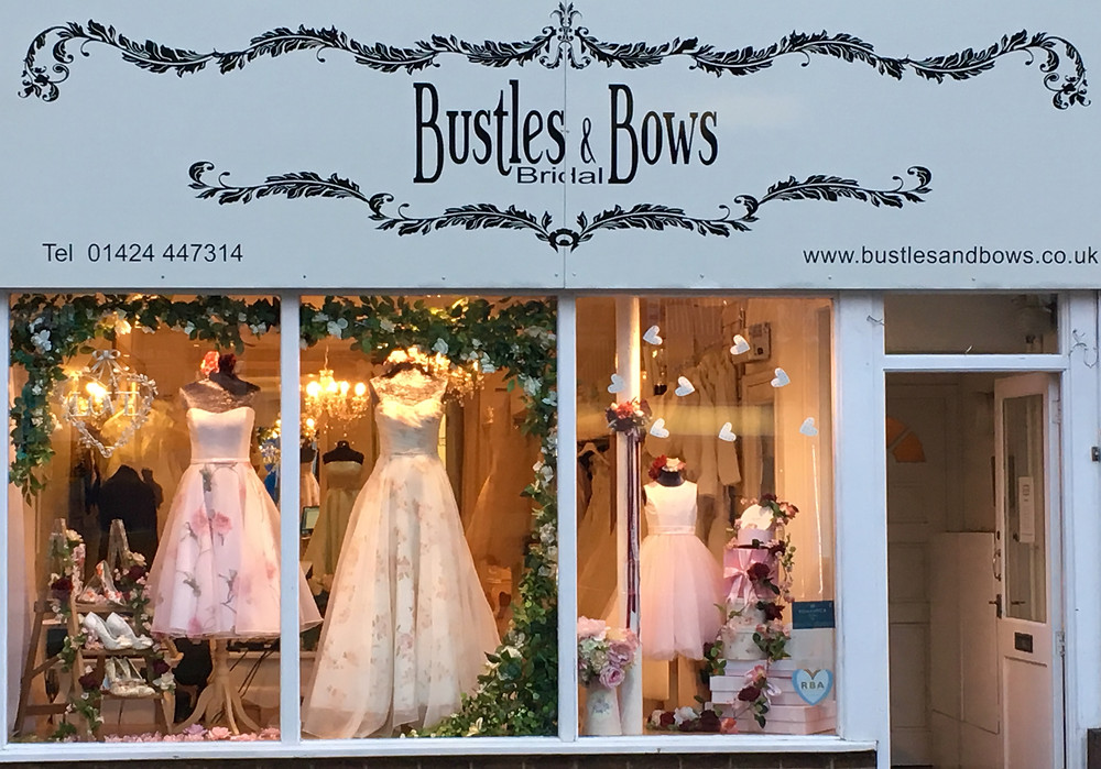Bustles and Bows shop