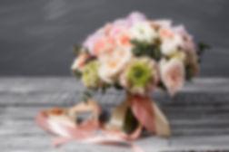 Ranunculas and rose posy summer wedding www.southdownsfloristryschool.com