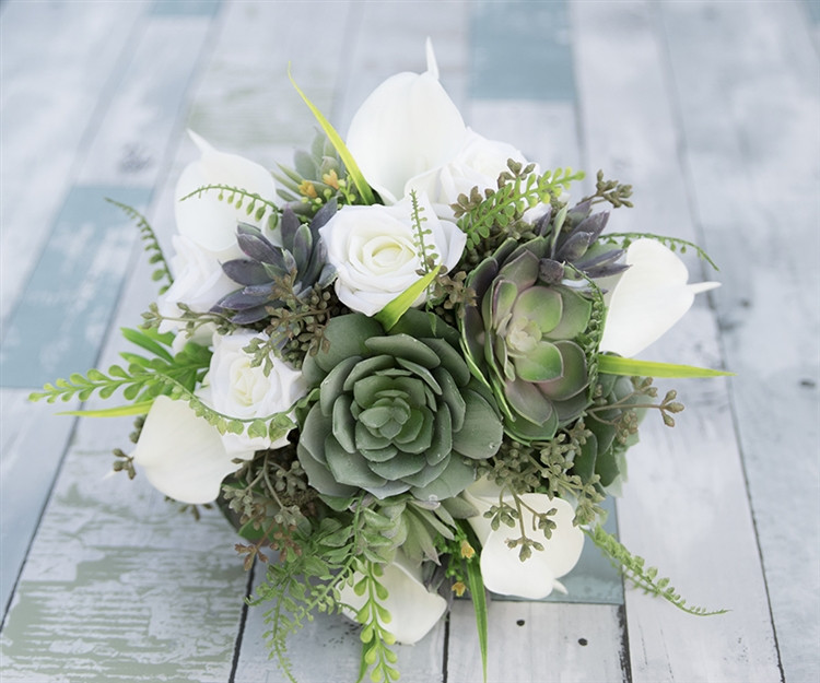 Real touch artificial flowers
