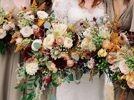 Where do I need flowers for my wedding day?