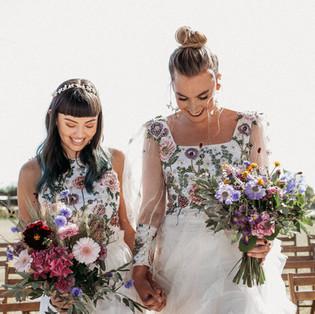 Cherry Barn wedding shoot featured on Rock My Wedding
