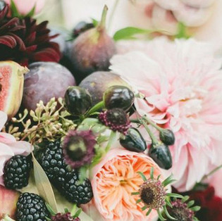 Fig & Berry Table decoration