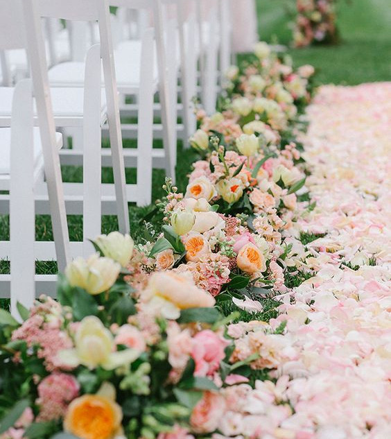 Meadow Walkway Aisle decorations