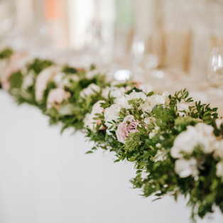 Farbridge top table decoration