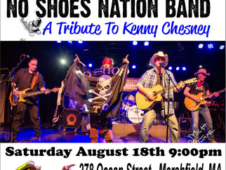 DONT MISS NO SHOES NATION BAND'S DEBUT@THE JETTY TOMORROW NIGHT