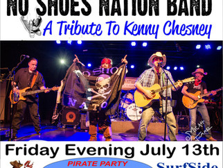 No Shoes Nation Band  PIRATE PARTY!