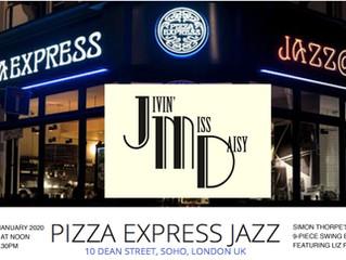 JMD at  Pizza Express Jazz Club, Soho