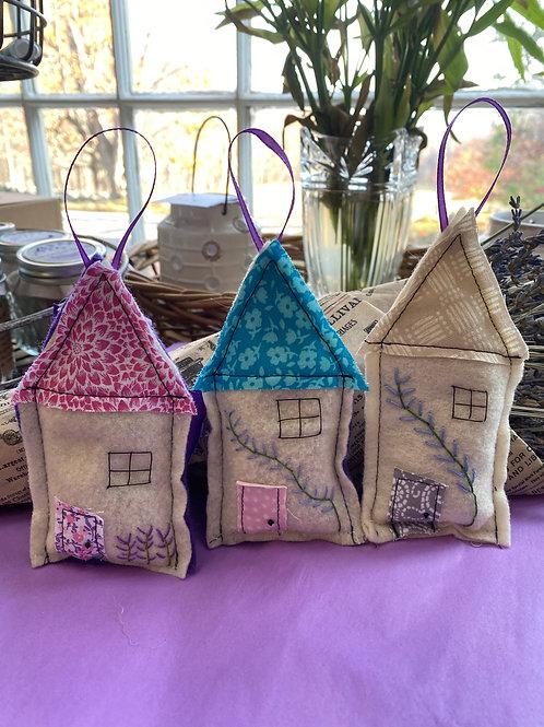 Lavender House Sachet Ornament