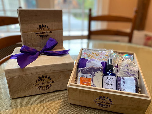 Lavender Gift Box (Heart Gift Tag)