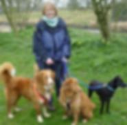 Jo, dog walker Woof Alnwick