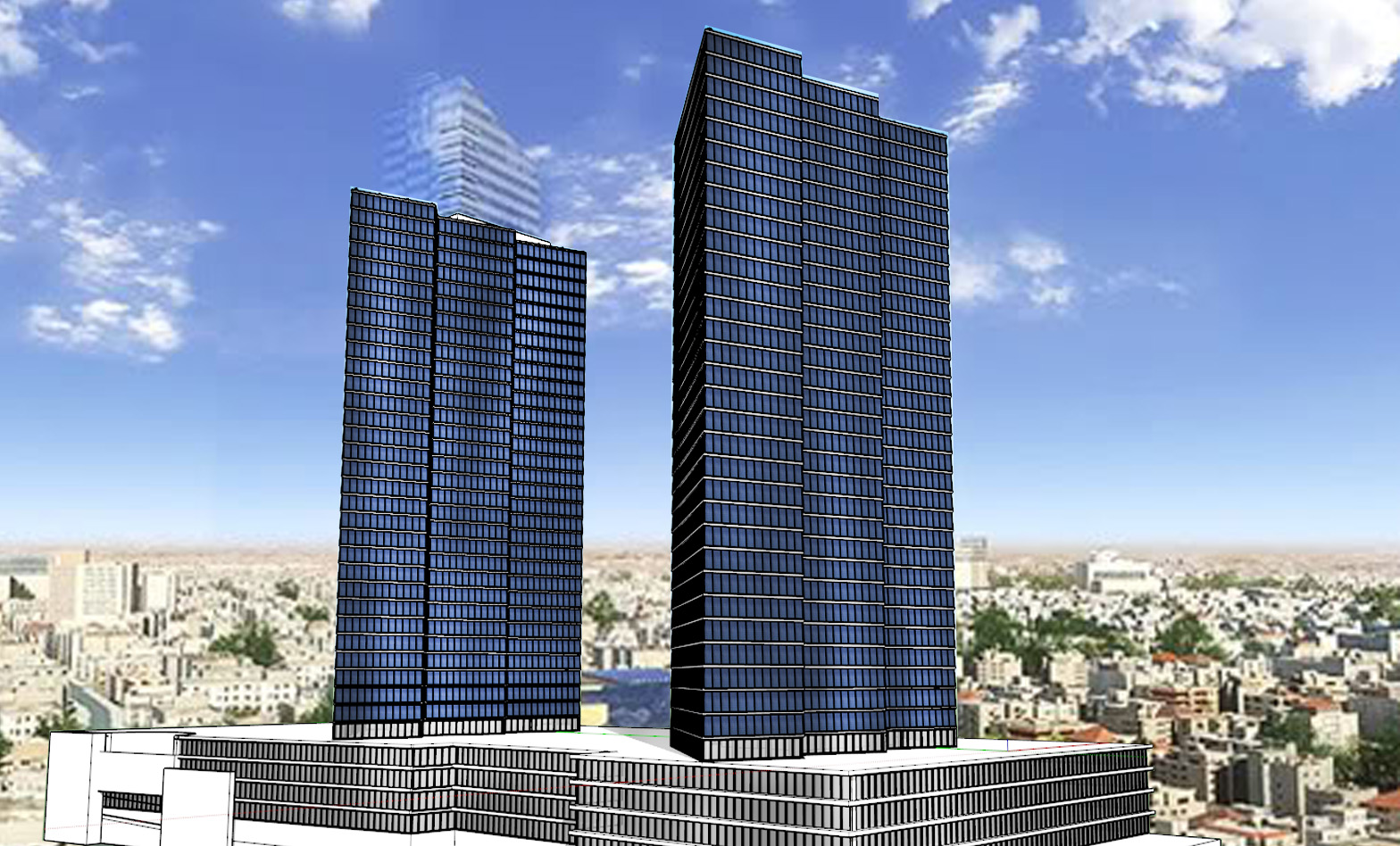 Jordan Gates Tower Design