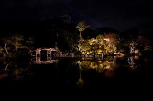 쇼세이엔(渉成園) - 키코쿠테이(枳殻邸)의 라이트업