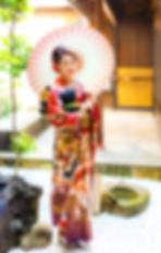 京町家,成人式撮影
