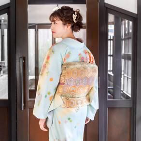 기모노의 오비(帯)에 담긴 염원, 길상문양(吉祥文様)