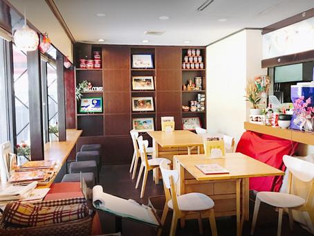 지브리 애니메이션「마루 밑 아리에티(借りぐらしのアリエッティ)」를 모티브로 한 「카페 아리에티(カフェ アリエッティ)」