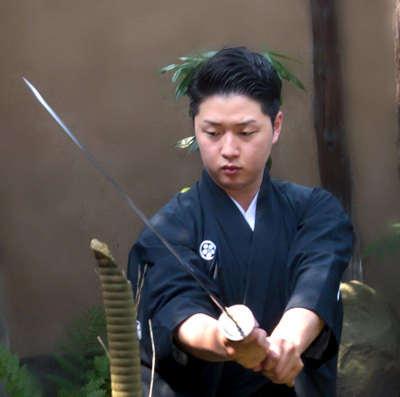 교토 사무라이 체험 코스 (2명 이상부터 예약가능)