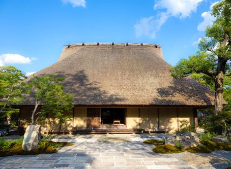 고즈넉한 교토의 초가집이 아름다운 카페 「빵과 에스프레소와 아라시야마 정원(パンとエスプレッソと嵐山庭園)」