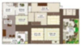 유메야카타,오이케점,일본가옥
