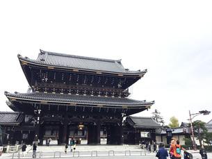 히가시혼간지(東本願寺)주변의 단풍