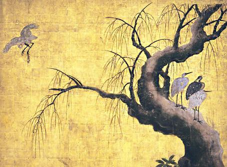 세계문화유산 니조성「로우쥬노마(老中の間)의 화조도(花鳥図)」특별전시