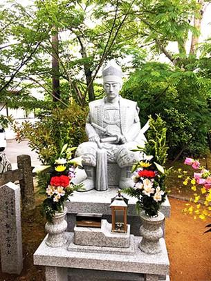 마츠다이라 카타모리 공(松平容保 公)의 석상