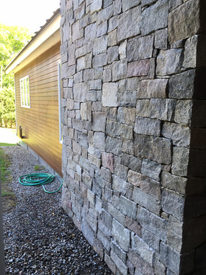 "Stone Veneer, Squares/Rectangles, ""Dry Laid"" Pattern"