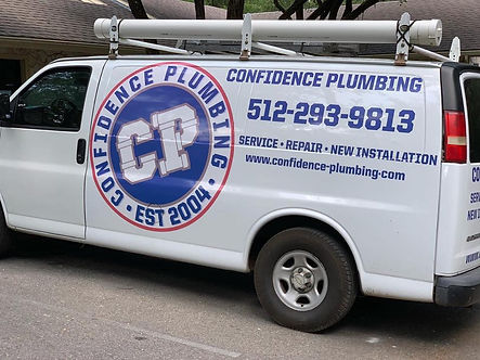 Confidence Plumbing Mobile Service Vehicle
