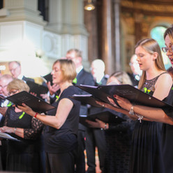 In action at St Marylebone Church