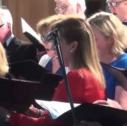 Performing Heaven Haven, Proms Concert, Great Missenden 2015