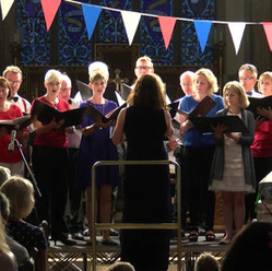 Performing Sleep, Proms Concert, Great Missenden 2015