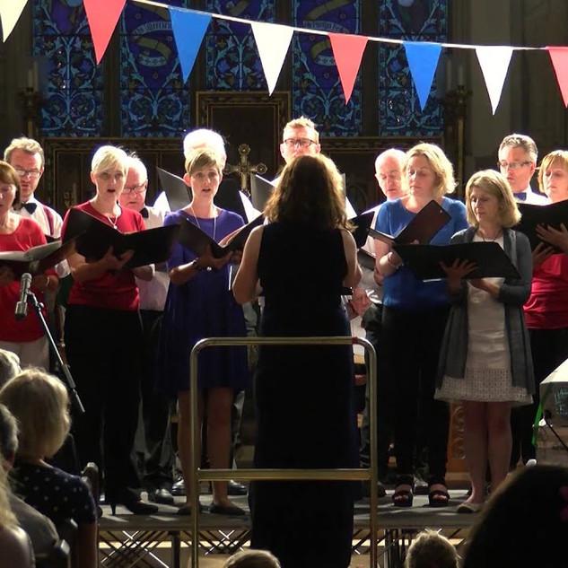 Performing Sleep, Proms Concert, Great Missenden 2015