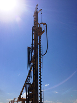 Ozmec Engineering & Mechanical_Onsite Plant Maintenance - CFA piling rig