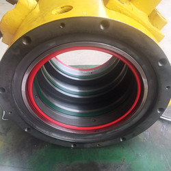 Ozmec Engineering & Mechanical_Custom Onsite Fabrication. Rotary coupling and seal