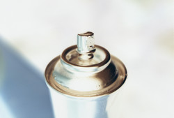 Silver Spraycan 1993