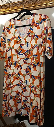 petite robe ete à motifs col V photo3.jp
