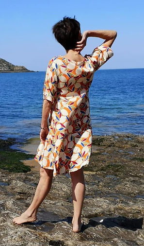 petite robe ete à motifs col V photo2.jp
