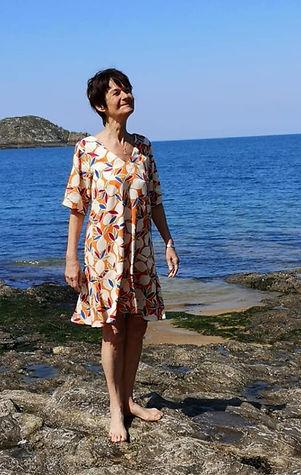 petite robe ete à motifs col V photo1.jp